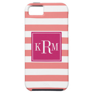 Rugby Stripes and Monogram iPhone 5 Cases