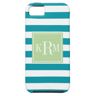 Rugby Stripes and Monogram iPhone 5 Cover