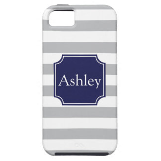 Rugby Stripes and Name iPhone 5 Case