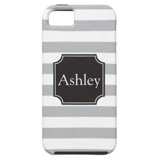 Rugby Stripes and Name iPhone 5 Cover