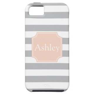 Rugby Stripes and Name Case For The iPhone 5
