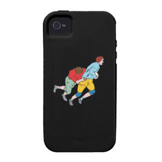 Rugby Tackle iPhone 4/4S Cases