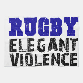 Rugby Tea Towel