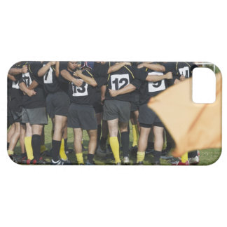 Rugby team standing in a circle case for the iPhone 5