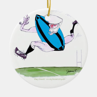rugby try, tony fernandes christmas ornament