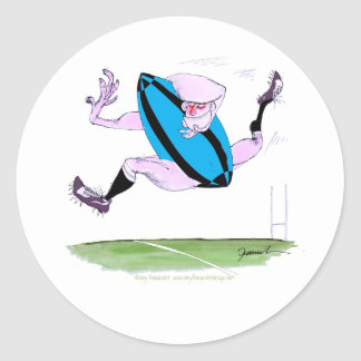 rugby try, tony fernandes round sticker