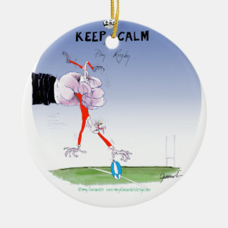 rugby tumble, tony fernandes christmas ornament