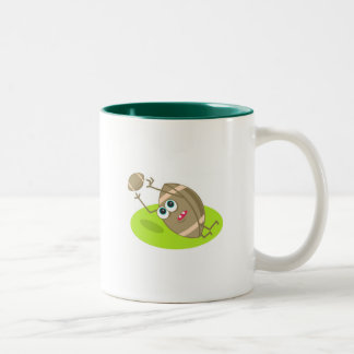 Rugby Two-Tone Coffee Mug