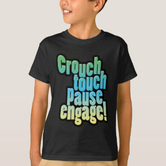 Rugby Union Crouch Touch Pause Engage T-Shirt