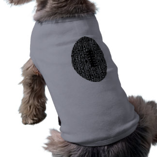 Rugby Union Gifts Sleeveless Dog Shirt