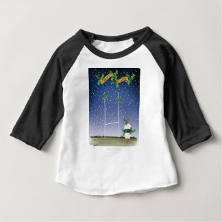 rugby xmas baby T-Shirt