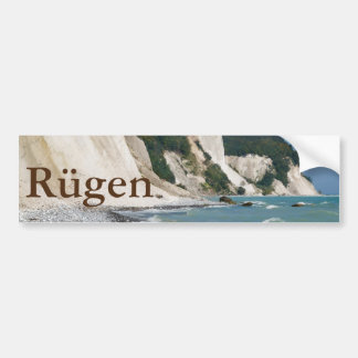 Rugen coast bumper sticker