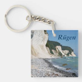 Rugen coast key ring