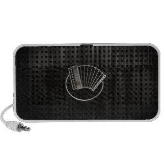 Rugged Accordion iPod Speakers