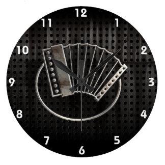 Rugged Accordion Wall Clocks