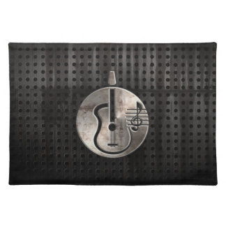 Rugged Acoustic Guitar Placemat