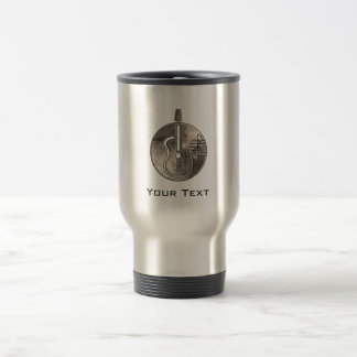 Rugged Acoustic Guitar Travel Mug