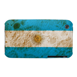 Rugged Argentine Flag iPhone 3 Case-Mate Cases