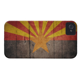 Rugged Arizona Flag iPhone 4 Case-Mate Case