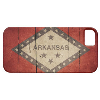 Rugged Arkansas Flag Case For The iPhone 5