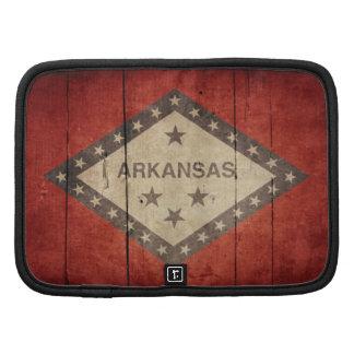 Rugged Arkansas Flag Folio Planner