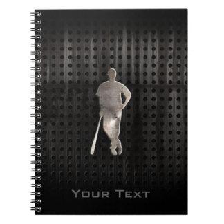 Rugged Baseball Spiral Notebooks