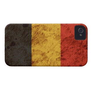 Rugged Belgian Flag iPhone 4 Case-Mate Cases