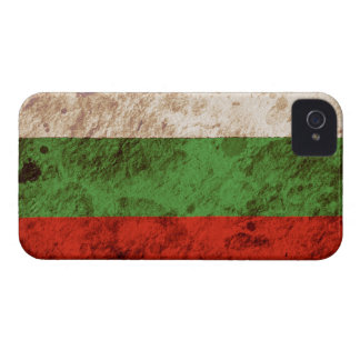 Rugged Bulgarian Flag iPhone 4 Cover