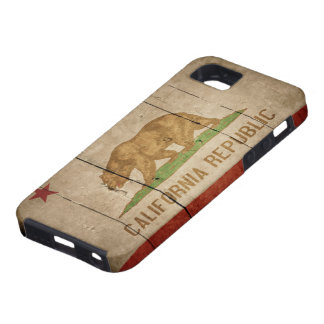 Rugged California Flag iPhone 5 Case