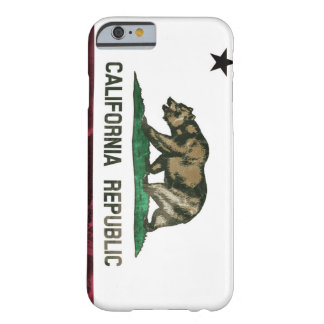 Rugged California Republic Barely There iPhone 6 Case