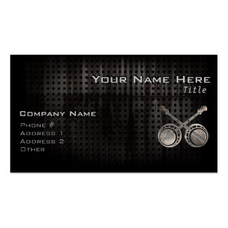 Rugged Dueling Banjos Business Card Template