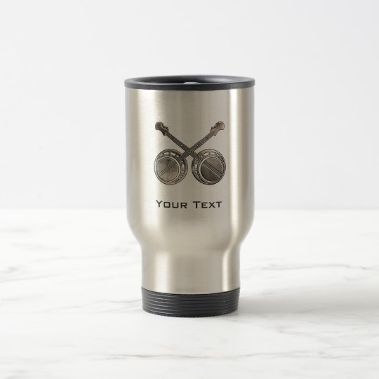 Rugged Duelling Banjos Travel Mug