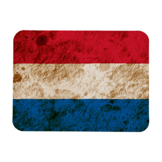 Rugged Dutch Flag Vinyl Magnets