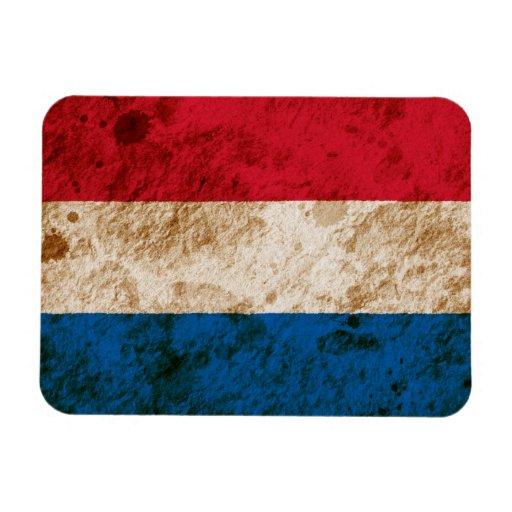 Rugged Dutch Flag Vinyl Magnets