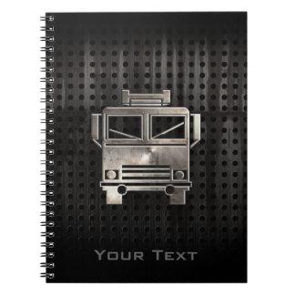 Rugged Fire Truck Notebook