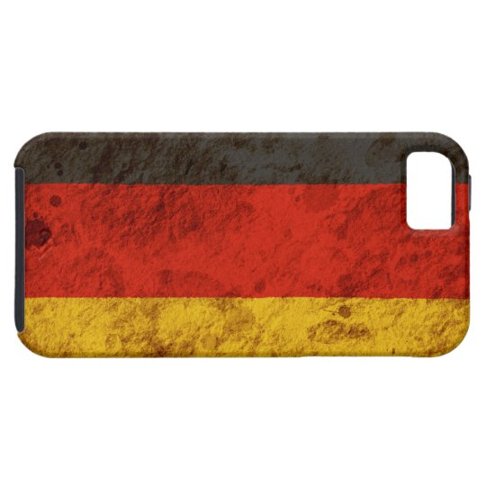 Rugged German Flag Tough iPhone 5 Case