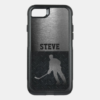 Rugged Hockey Name Diamond Plate Case