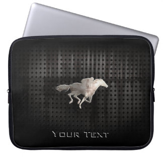 Rugged Horse Racing Computer Sleeve