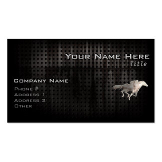 Rugged Horse Racing Pack Of Standard Business Cards