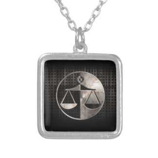 Rugged Justice Scales Personalized Necklace