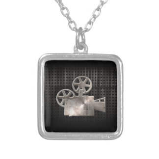 Rugged Movie Camera Custom Necklace