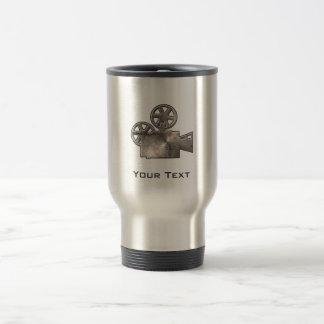 Rugged Movie Camera Travel Mug