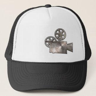 Rugged Movie Camera Trucker Hat