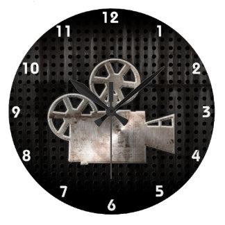 Rugged Movie Camera Wallclock