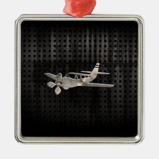 Rugged Plane Christmas Ornament
