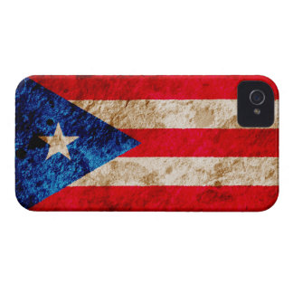 Rugged Puerto Rican Flag Blackberry Bold Case