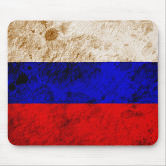 Rugged Russian Flag Mouse Pads