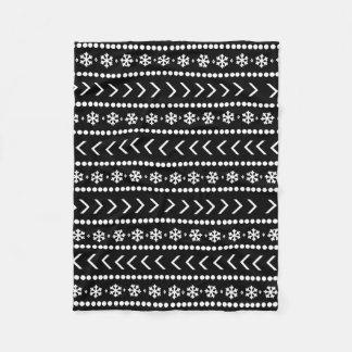 Rugged Snow blanket - black