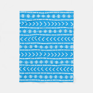 Rugged Snow blanket - blue