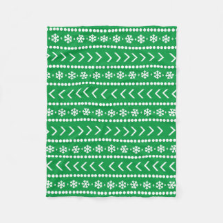 Rugged Snow blanket - green